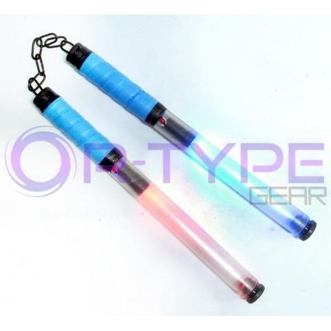 RGB LED nunchaku świecące