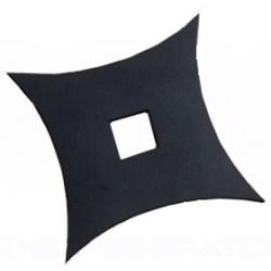 Shuriken z czarnej stali