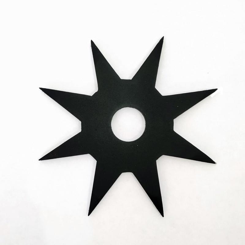 Ośmio 8 ramienny stalowy Kobori Hoppo Shuriken staloy węglowy stal węglowa