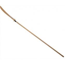 drewniana Włócznia Naginata z drewnianym ostrzem wooden