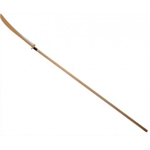 Włócznia Naginata z drewnianym ostrzem lekka