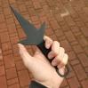 Kunai Minato stali czarnej ostry 25cm