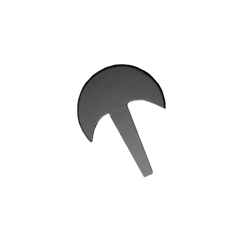 Hangetsu shuriken ostry stalowy węglowy stal węglowa